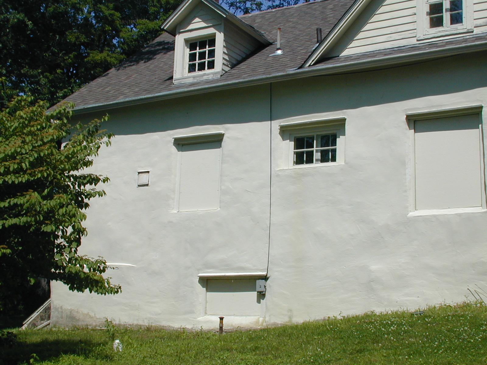 Ribble house, roadside view