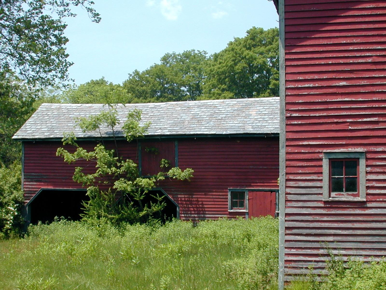B.B. Van Campen farm, barns