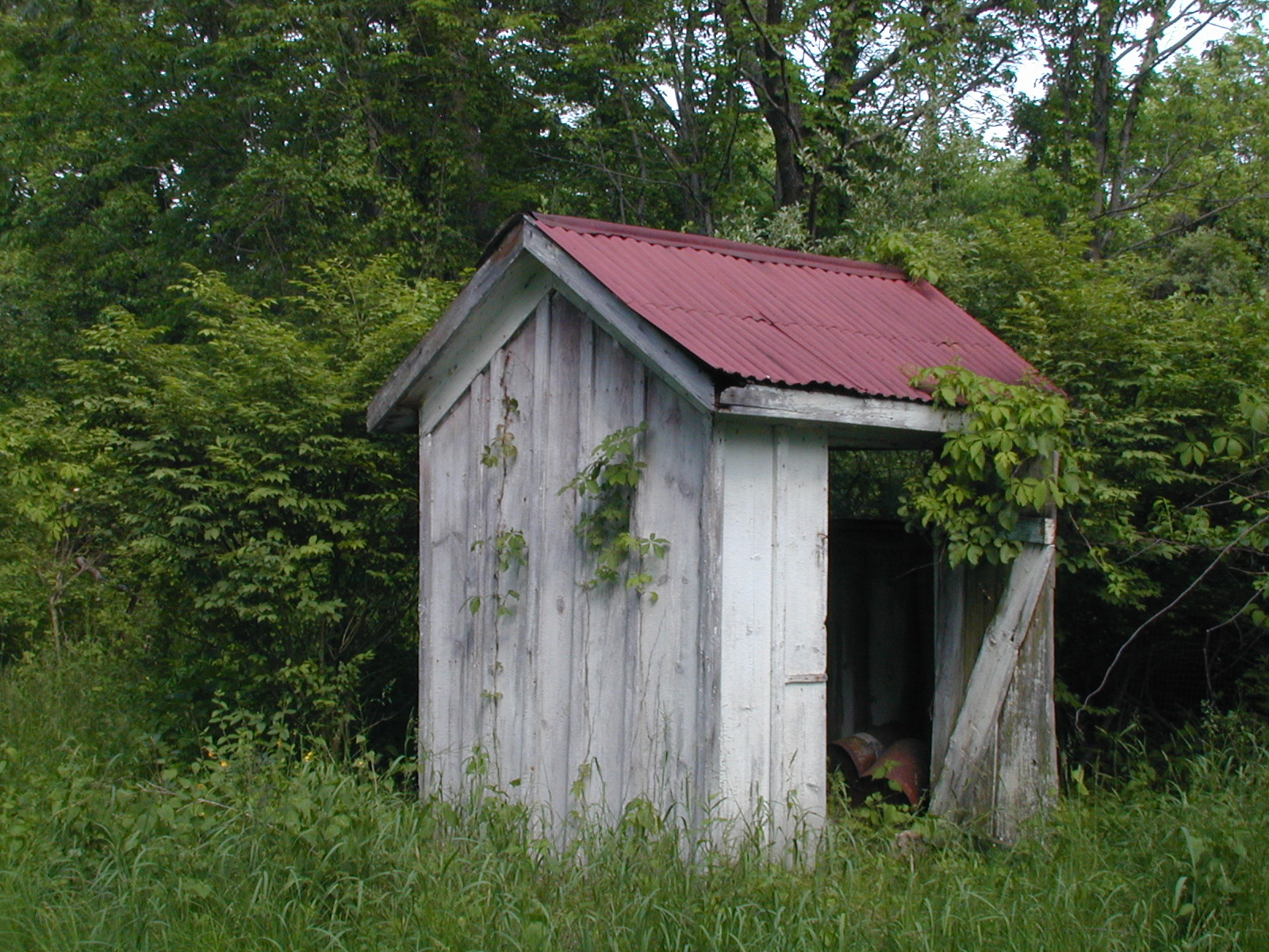 Second unknown house, shed
