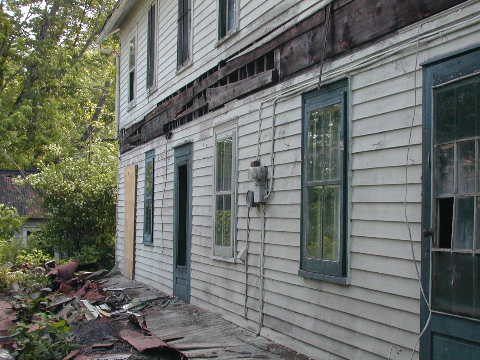 Third unknown house