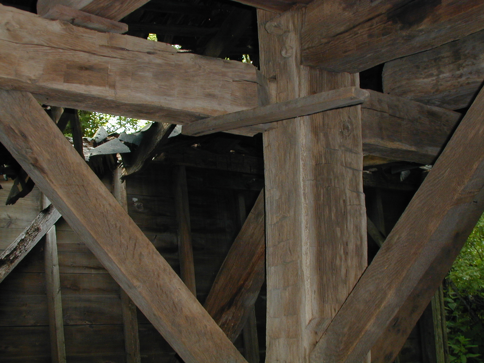 Third unknown house, third barn interior