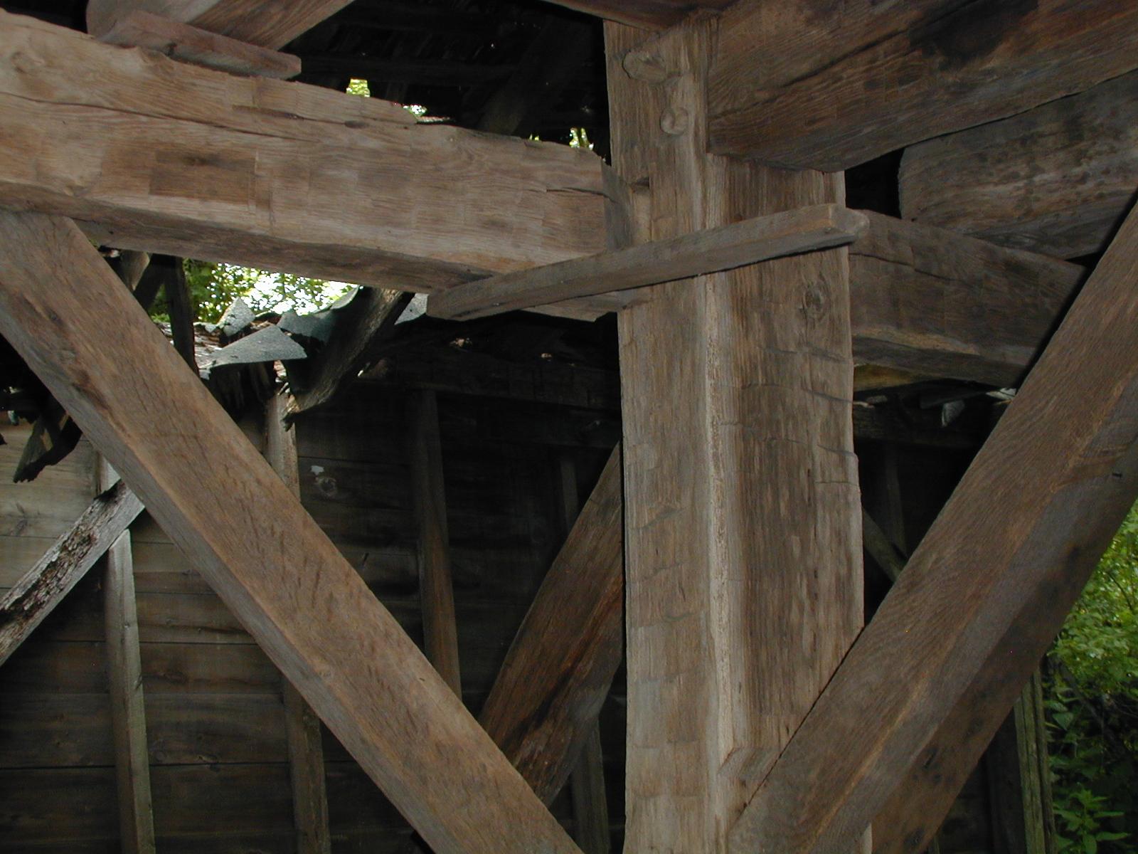 Third unknown house, third barn interior