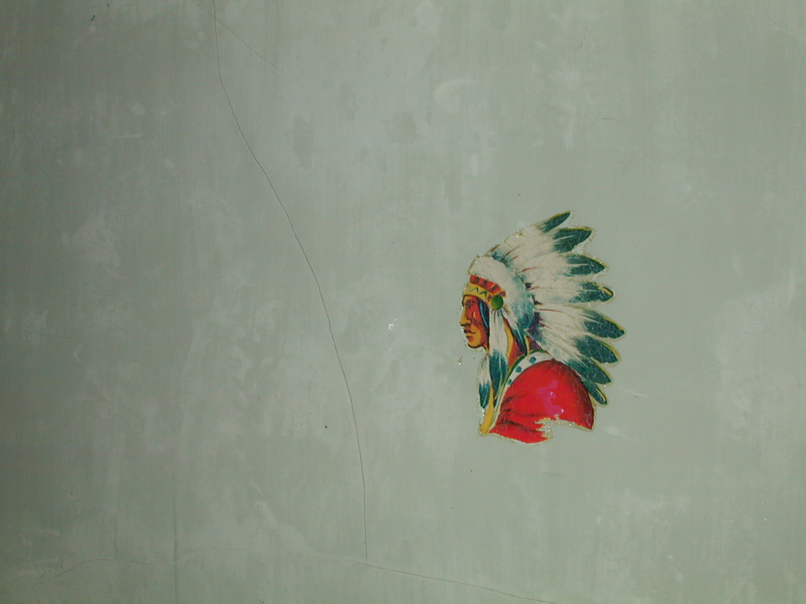 Third unknown house, Indian Chief