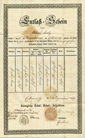 Document #3 - Local school final marks, 1845