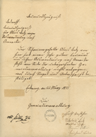 Document #4 - Letter of recommendation, 1855