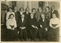 Betz brothers and their wives with family, date unknown