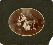 Edward R. and Lena Betz family, ca. 1901