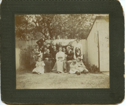 Edward and Lena wedding, ca. 1900