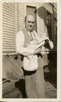 Edward M. Betz and son, ca. 1935