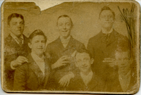 Edward R. Betz & friends, ca. 1895