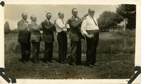 Six brothers, ca. August 1923