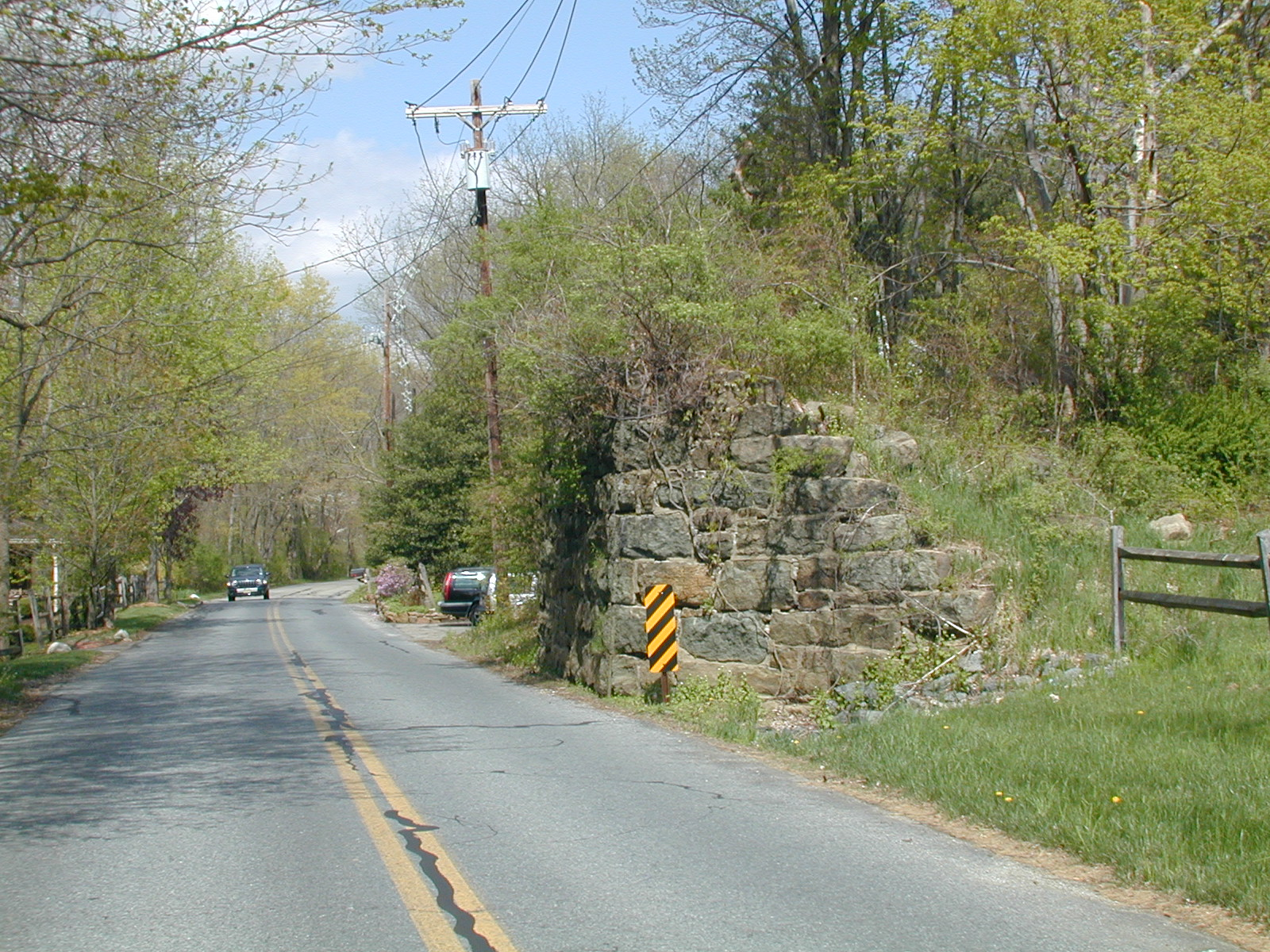 Supports for the CRNJ bridge over Furnace Road