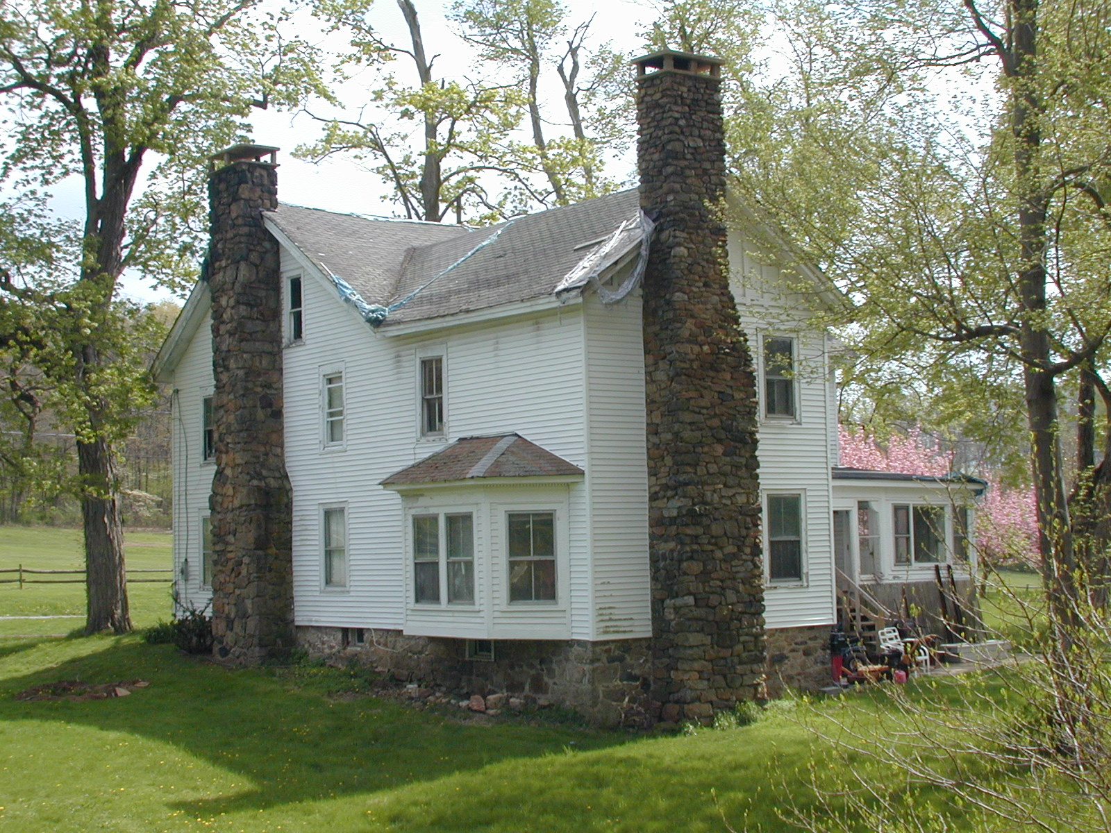 Side View, House on Furnace Road