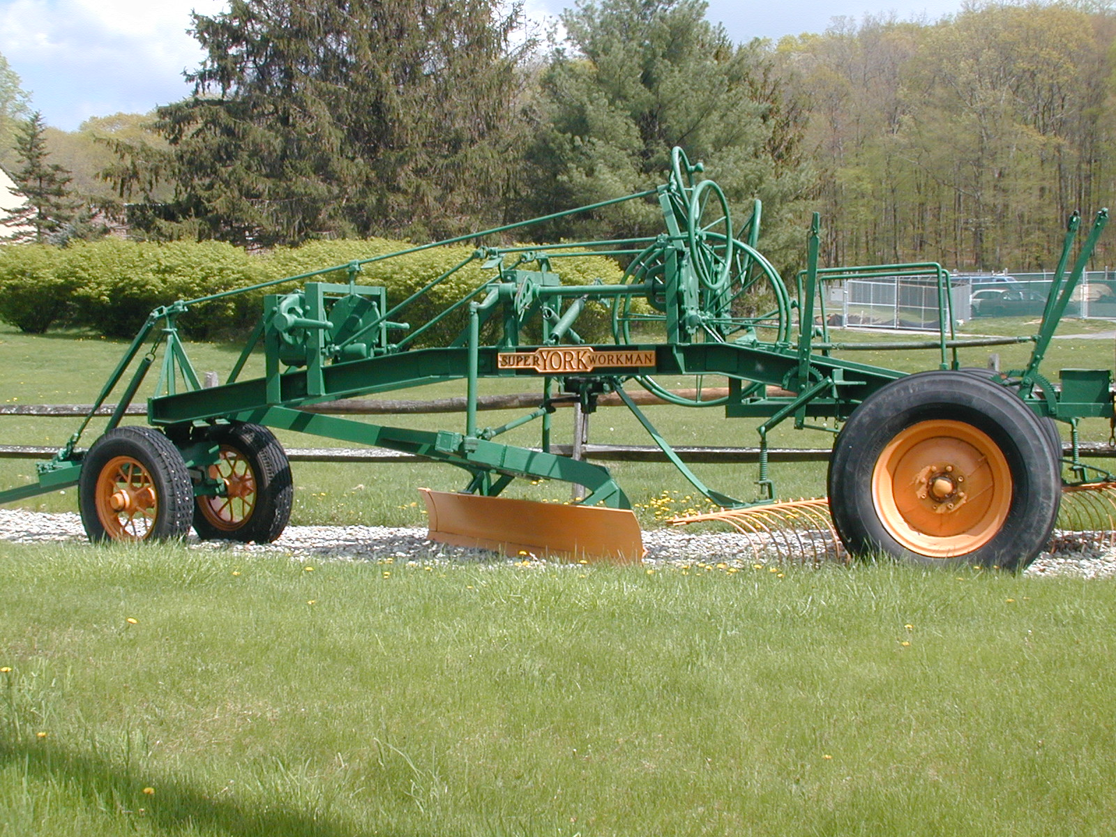 Old Grader in Chester