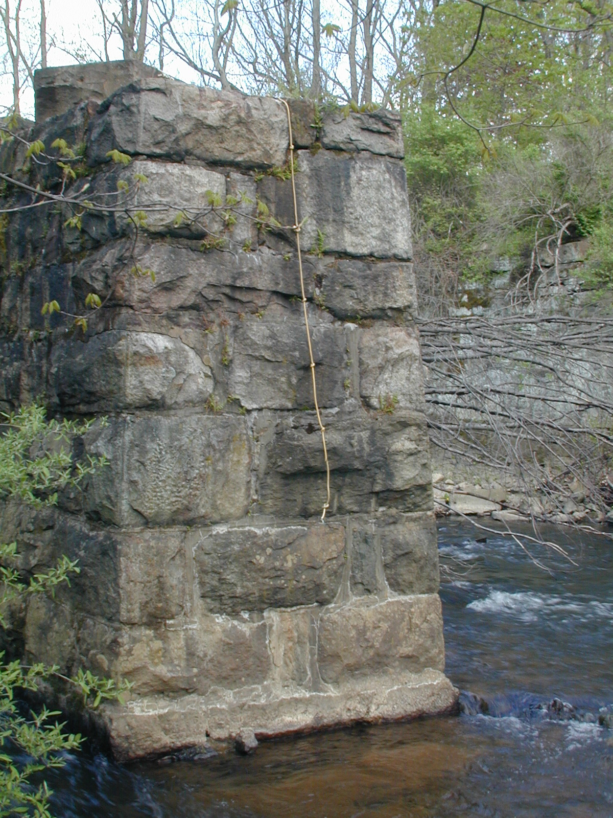 CRNJ Crossing of the Raritan, Detail