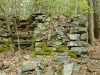 Right-front view of the lime kiln