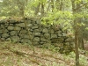 Left-side view of the lime kiln