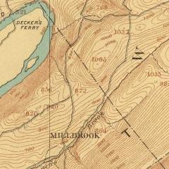 Millbrook area 1886