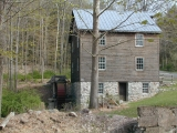 Reproduction of old mill at Millbrook
