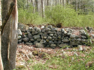 Stonework north of Millbrook