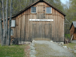 Smith's workshop at Millbrook