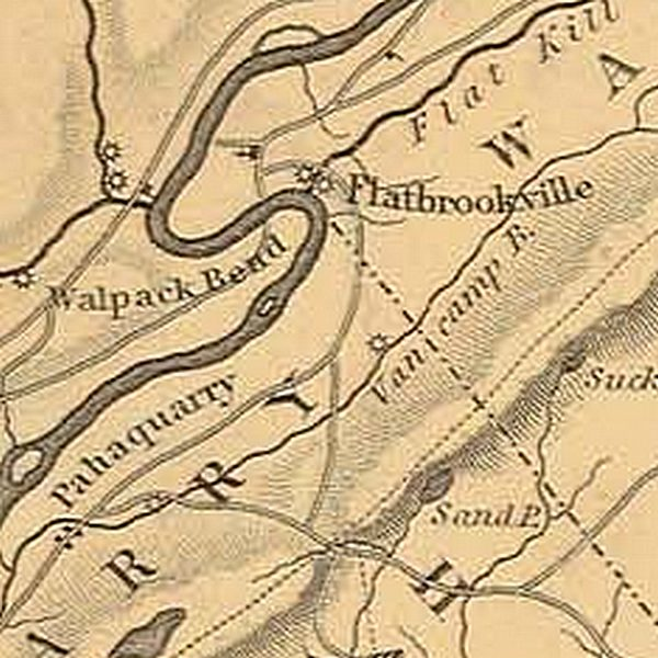 1833 Gordon survey map