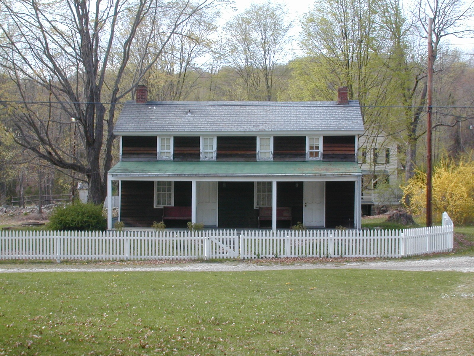 Preserved home at Millbrook