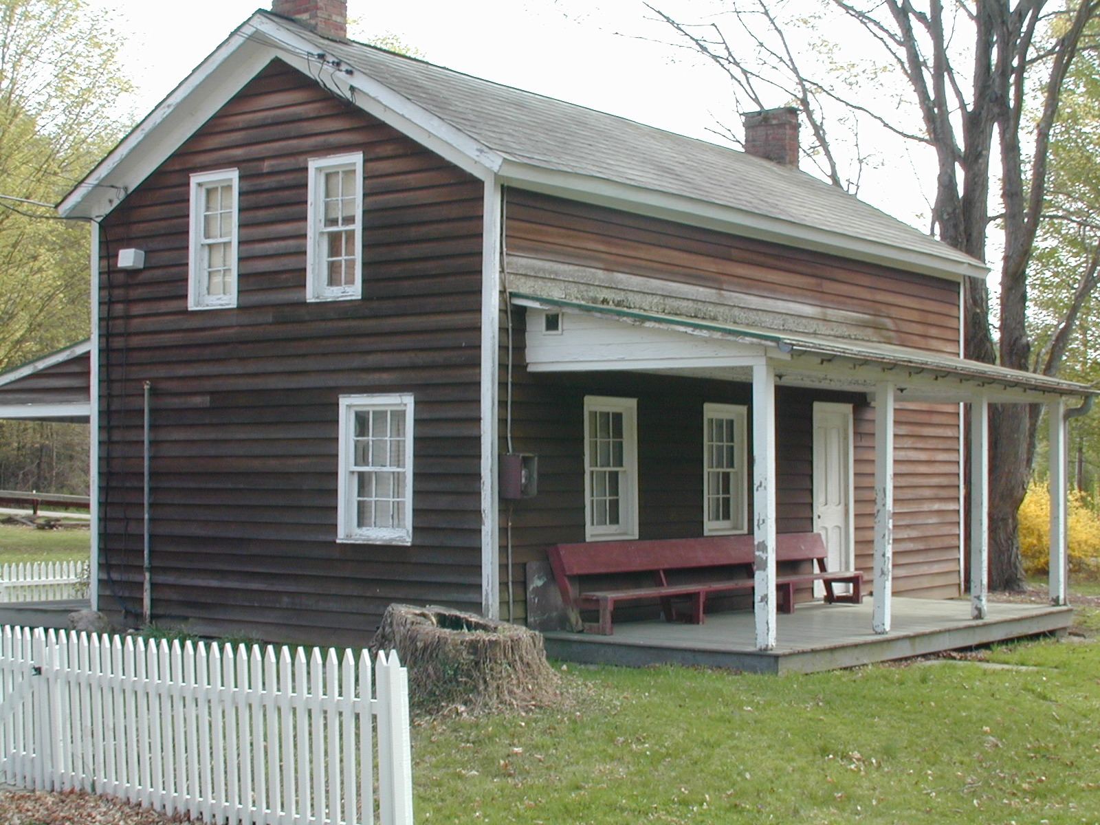 A preserved home at Millbrook