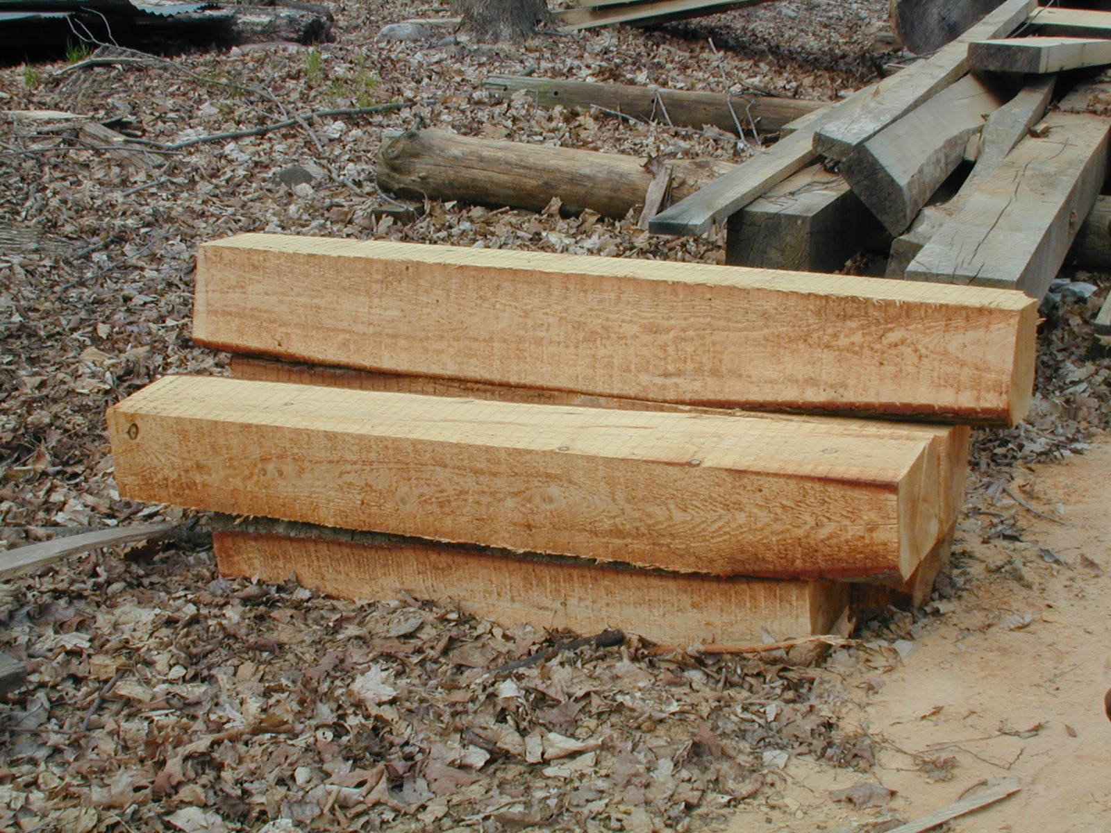 Sawn timber at Millbrook