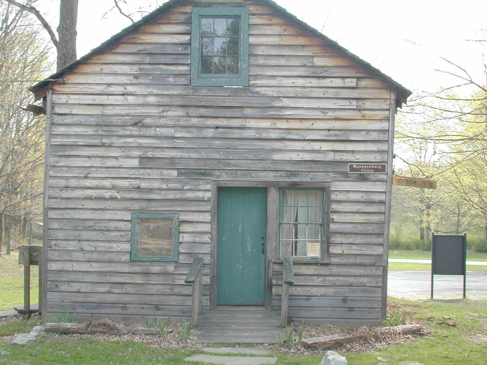 Spangenberg cabin