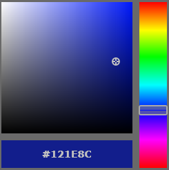 HSV color picker control