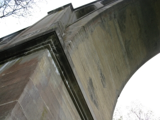 Paulinskill Viaduct support arch