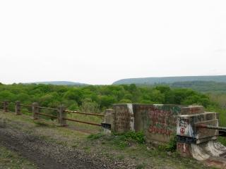 Kittatinny Mountain from the Viaduct