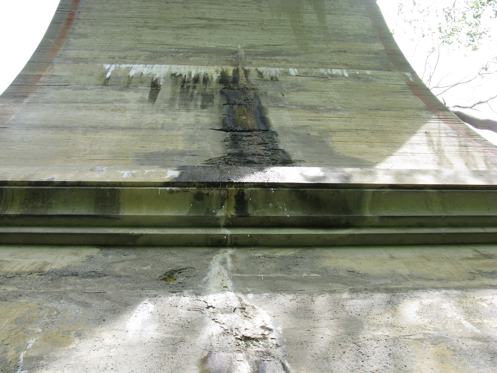 Water damage on the Viaduct