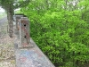 Missing railings on the Viaduct