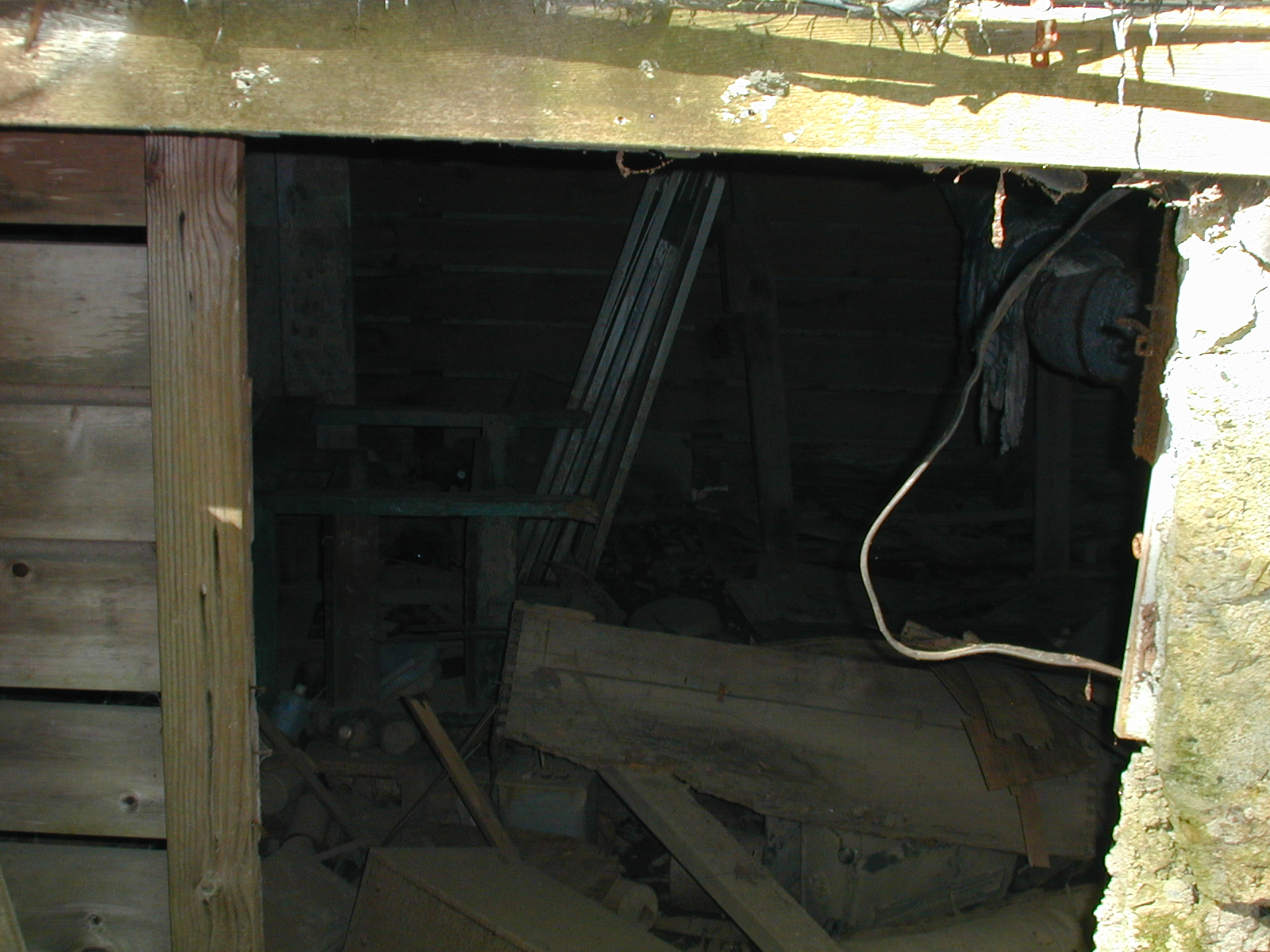 Basement of the second house