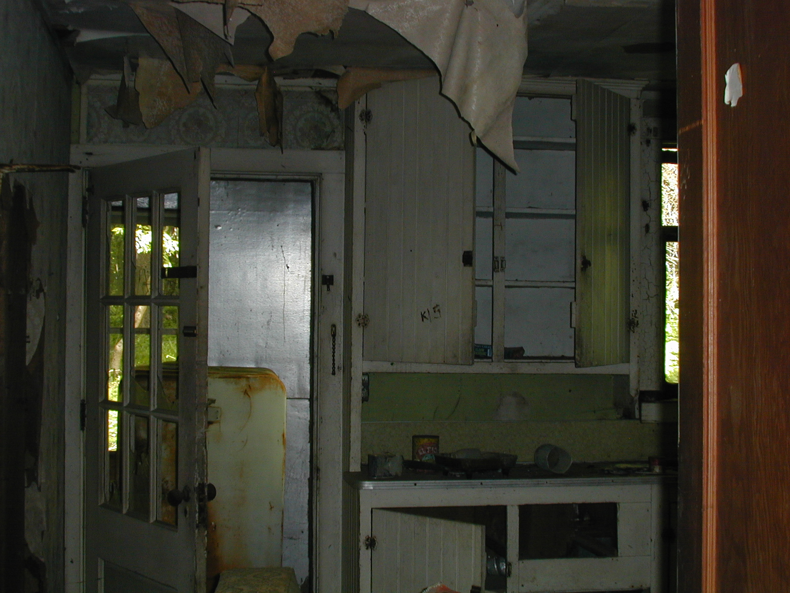 Kitchen of the second house