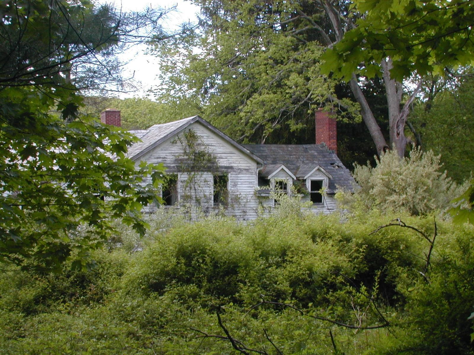 The Depue farmhouse